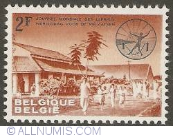 2 Francs 1964 - Leprosarium