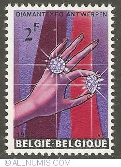 Image #1 of 2 Francs 1965 - DiamondExpo Antwerp
