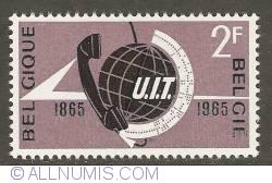 Image #1 of 2 Francs 1965 - International Telecommunication Union