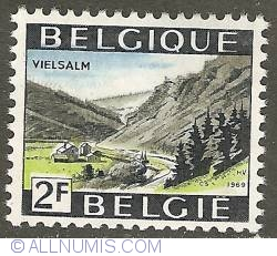 2 Francs 1969 - Vielsalm