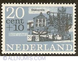 Image #1 of 20 + 10 Cent 1965 - Staveren