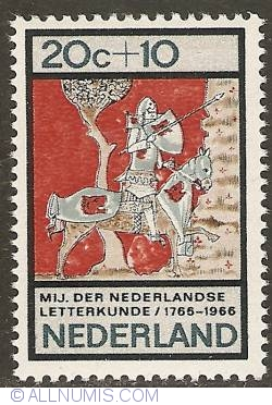 Image #1 of 20 + 10 Cent 1966 - Society of Dutch Literature