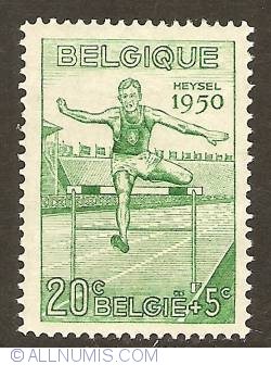 Image #1 of 20 + 5 Centimes 1950 - Hurdles