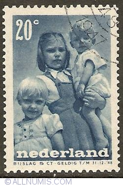Image #1 of 20 + 5 Cents 1947 - Children