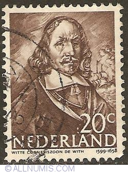 Image #1 of 20 Cent 1943 - Witte Cornelisz. de With