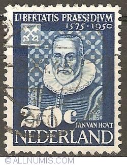 20 Cent 1950 - Leiden University - Jan van Hout