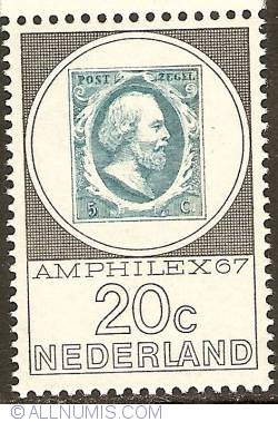 Image #1 of 20 Cent 1967 - Amphilex '67