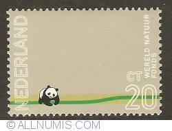Image #1 of 20 ,Cent 1971 - World Wildlife Fund - Panda