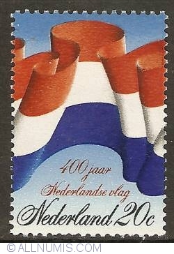 Image #1 of 20 Cent 1972 - 400th Anniversary of Dutch Flag