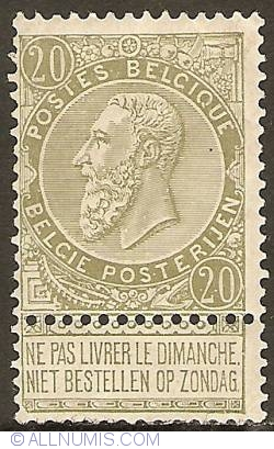 Image #1 of 20 Centimes 1893