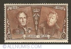 Image #1 of 20 Centimes 1925 - Leopold I and Albert I