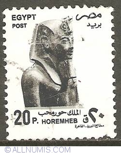 Image #1 of 20 Piastres 1997 - Horemheb