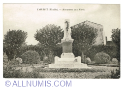 Image #1 of L'Orbrie (Vendée) - Monument to the Fallen (1951)