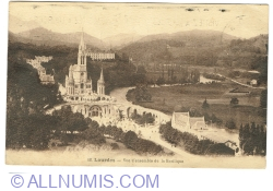 Image #1 of Lourdes - General View of the Basilica (1926)