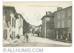 Image #1 of Mont-de-Marsan (Landes) - Place Saint-Jean-d'Août (1919)