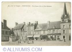 Image #1 of Montebourg - Place Jeanne d'Arc et Place Nationale (1919)