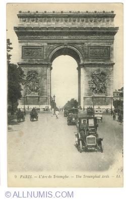 Image #1 of Paris - Arc de Triomphe (1921)