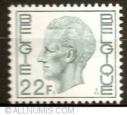 Image #1 of 22 Francs 1979 Baudouin I
