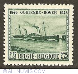 Image #1 of 2,25 Francs 1946 - mailboat Marie-Henriette