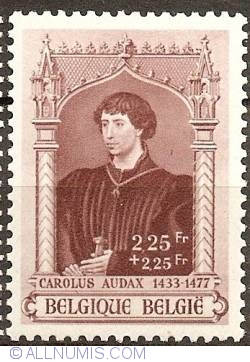 Image #1 of 2,25+2,25 Francs 1941 - Charles the Bold
