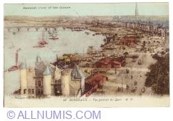 Image #1 of Bordeaux - General View of the Quais (1920)