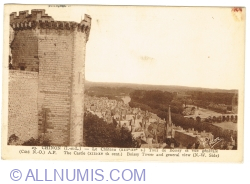 Image #1 of Chinon - The Castle - Boissy Tower and general view (1946)