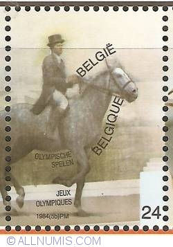 Image #1 of 24 Francs 1984 - Olympic Games Los Angeles - Dressage