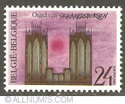 Image #1 of 24 Francs 1988 - Geraardsbergen - Organ