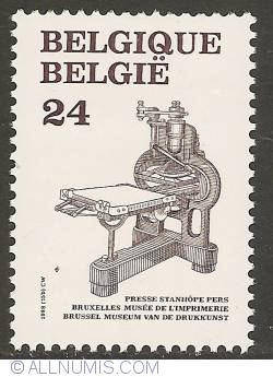 Image #1 of 24 Francs 1988 - Stanhope Press