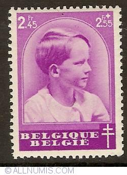 Imaginea #1 a 2,45 +2,55 Francs 1936 - Prince Baudouin