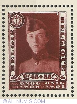 Image #1 of 2,45 Francs + 55 Centimes 1931 - Stamp Exhibition Brussels - Prince Leopold