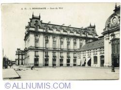 Image #1 of Bordeaux - Gare du Midi (1920)