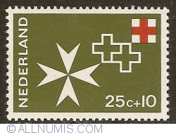 Image #1 of 25 + 10 Cent 1967 - Red Cross