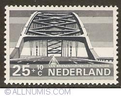 Image #1 of 25 + 10 Cent 1968 - Rotterdam - Van Brienenoordbrug