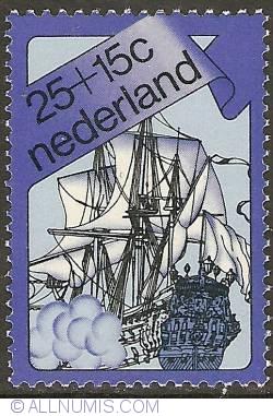 Image #1 of 25 + 15 Cent 1973 - De Zeven Provinciën