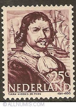Image #1 of 25 Cent 1943 - Tjerk Hiddes de Vries