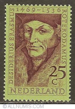 25 Cent 1969 - Desiderius Erasmus