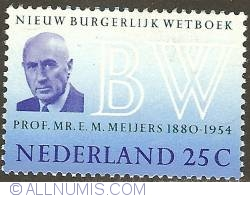 Image #1 of 25 Cent 1970 - Prof. Mr. E. M. Meijers