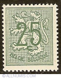 Image #1 of 25 Centimes 1951 - Heraldic Lion
