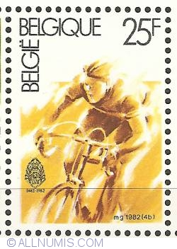 Image #1 of 25 Francs 1982 - Cycling