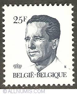 Image #1 of 25 Francs 1990