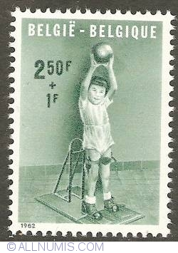 Image #1 of 2,50 + 1 Francs 1962 - The Handicapped Child