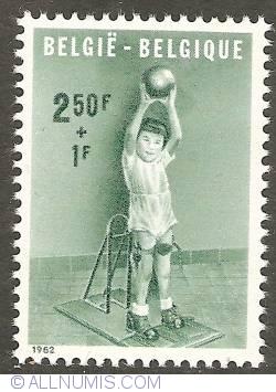 Imaginea #1 a 2,50 + 1 Francs 1962 - The Handicapped Child