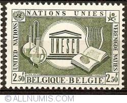 Image #1 of 2,50 Francs 1958 - UNO - UNESCO
