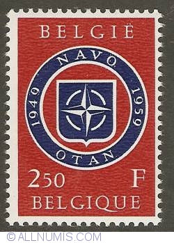 Image #1 of 2,50 Francs 1959 - 10 years NATO