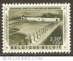 Image #1 of 2,50 Francs + 50 Centimes 1957 - George Patton Memorial - Bstogne