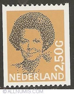 Image #1 of 2,50 Gulden 1986