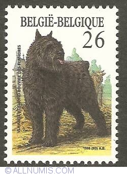 Image #1 of 26 Francs 1986 - Bouvier des Flandres