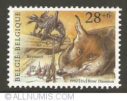 Image #1 of 28 + 6 Francs 1992 - Reynard the Fox