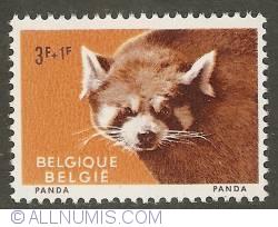 Image #1 of 3 + 1 Francs 1961 - Red Panda